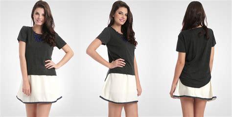 Cross Top Blouse Atasan Wanita Bl982 mainstreet id toko baju casual wanita trusted seller