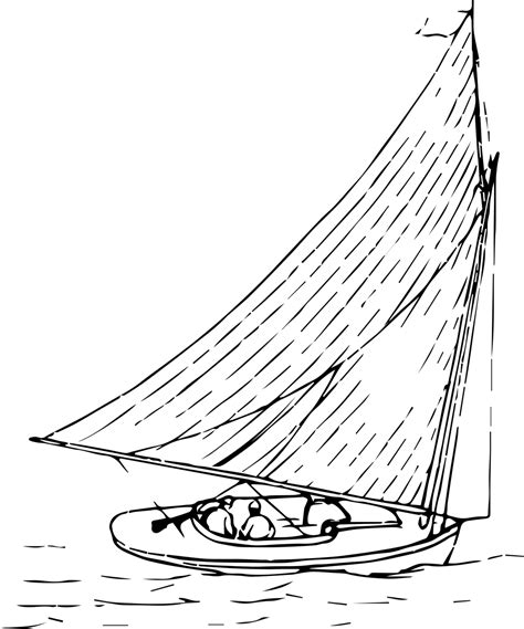 boat with drawing how to draw a boat 14 free printable boat stencils how