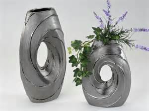 deko vasen silber blumenvasen deko eine geschmackvolle weise die wohnung zu