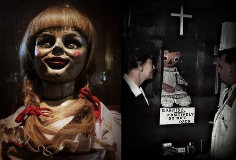 annabelle doll warrens occult museum position demonic possession cries for help read the chilling true