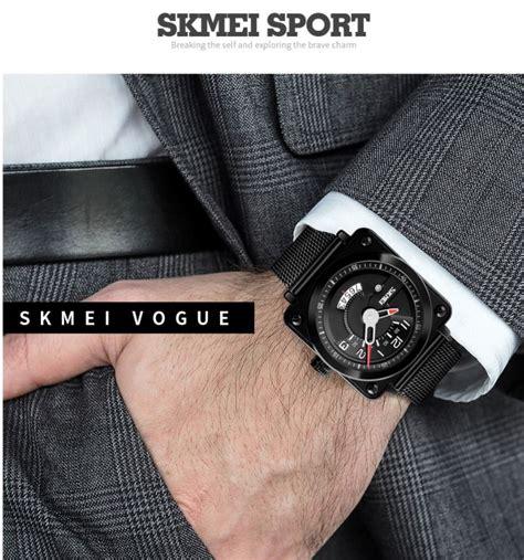Skmei Jam Tangan Analog Pria Stainless Steel 9070cl Blue skmei jam tangan analog pria stainless steel 9172 black jakartanotebook