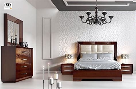 modern contemporary king  queen size bed set   spain carmen  esf king buy