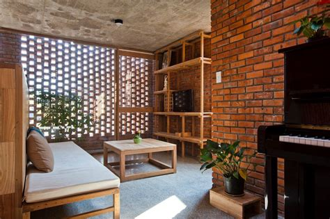 house of bricks a creative brick house controls the interior climate and looks amazing
