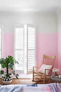 pink walls bedroom two color wall painting ideas for beautiful bedroom decorating