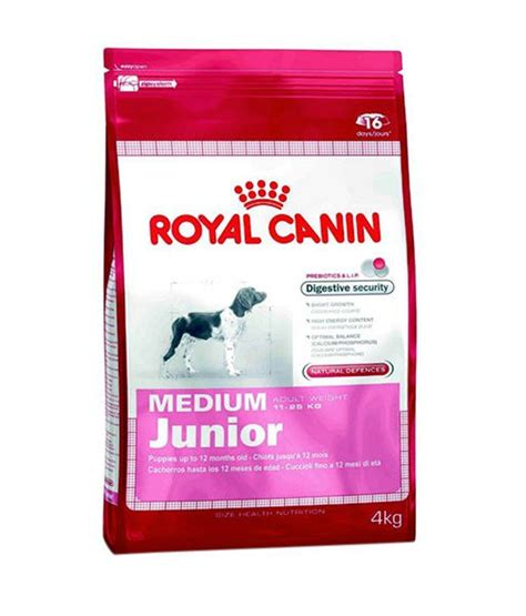 Royal Canin Medium Junior 4 Kg Makanan Anjing 1 royal canin medium junior 4 kg buy royal canin medium
