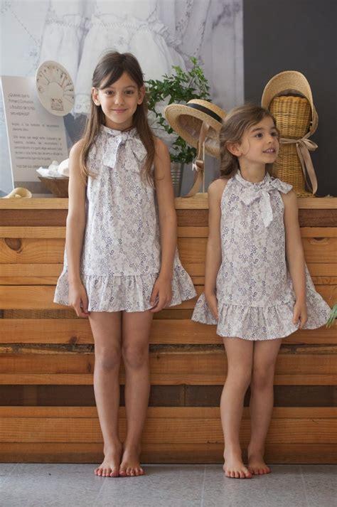 littles models child s no sin valentina vestido de lazo al cuello de quot quita y