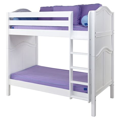 tall loft bed tall curved panel high bunk bed rosenberryrooms com