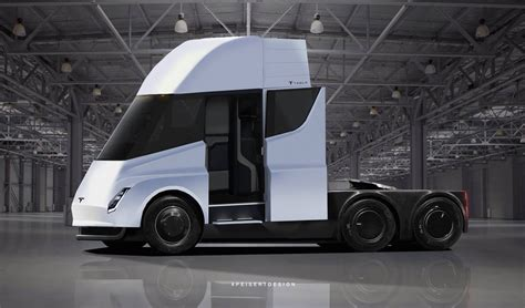 electric semi truck tesla semi all electric truck provides a great idea about
