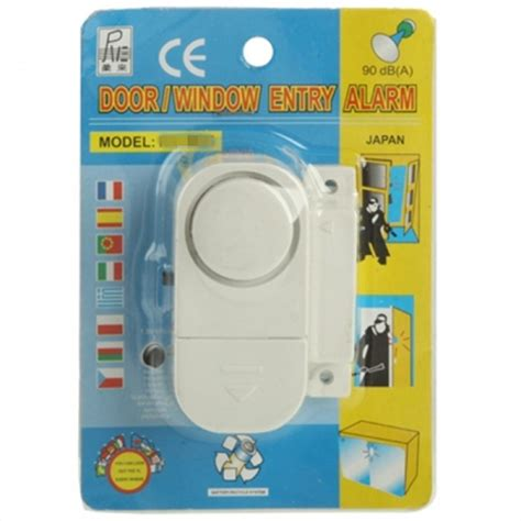 Alarm Pintu Doorwindow Entry Alarm door window entry magnetic stand alone alarm