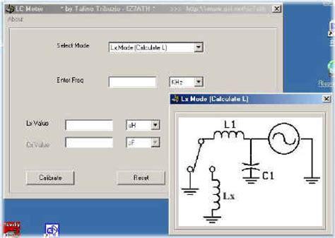 inductance meter homebrew inductance capacitance meter by iz7ath