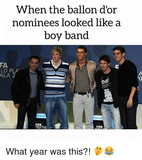 when the ballon d or nominees looked like a boy band fa ld