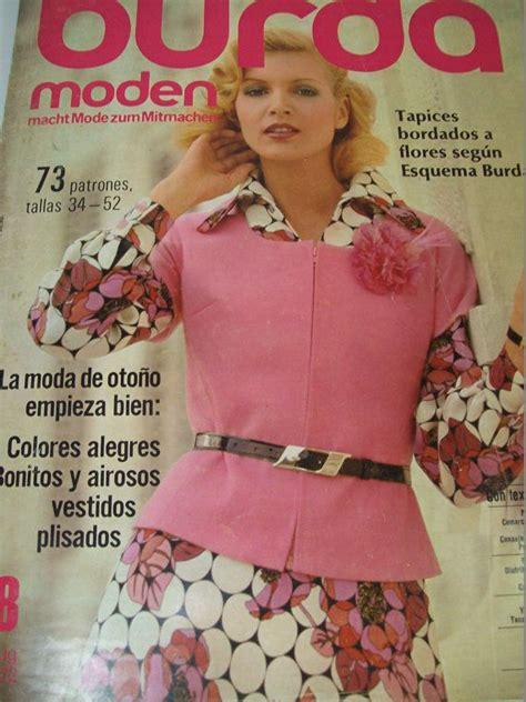 pattern sewing magazine 1971 burda moden vintage sewing pattern magazine german