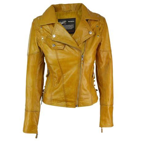 Jaket Yellow yellow leather jacket cairoamani