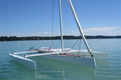 trimaran kit with folding akas trimaran kit with folding akas pocket sailboat