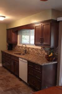 Built In Laundry Cabinets by Red Mahogany Kitchen Over 25 Years Of Custom Cabinets