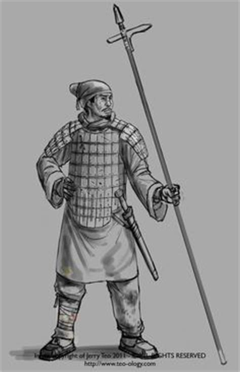 Ancient Chinese infantry during the Qin Dynasty | East