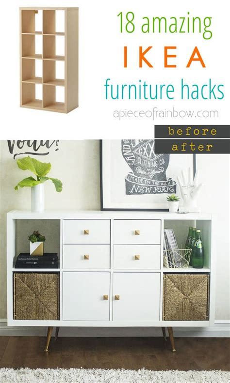 ikea hacks van and hacks on pinterest easy custom furniture with 18 amazing ikea hacks page 3