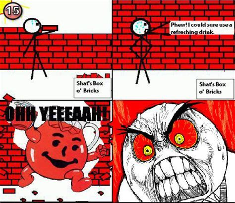 Koolaid Meme - koolaid man is a douche