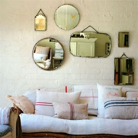 mirror collage wall decor d 233 cor inspiration vintage mirror collages apartment therapy
