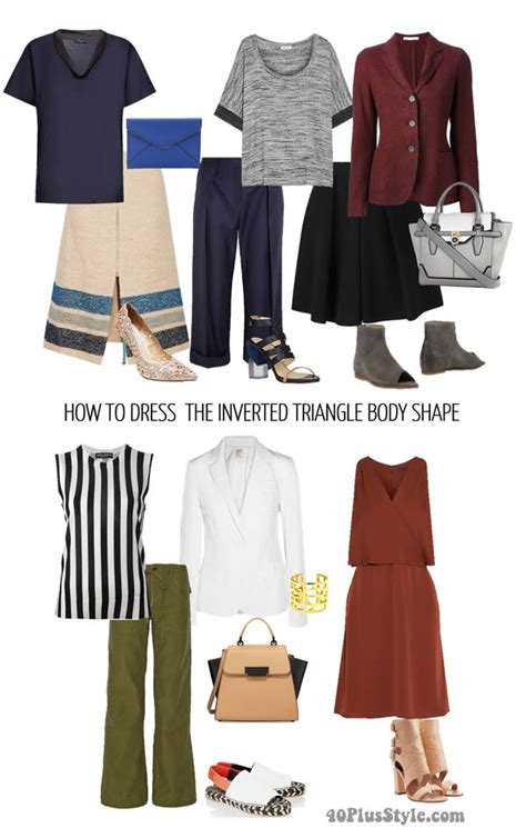 what inverted triangles shouldnt wear how to dress the inverted triangle body shape learn how