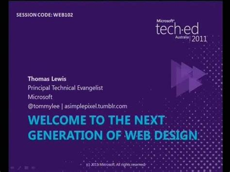 The Hunt For The Next New Generation Designers Begins Again by Welcome To The Next Generation Of Web Design Tech 183 Ed