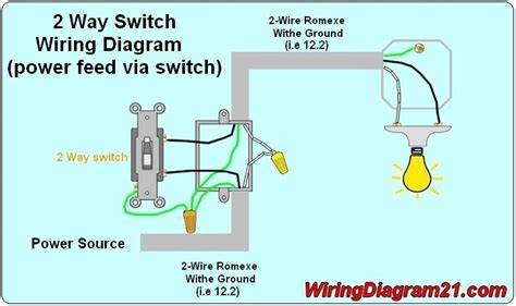 wiring diagram 2 way light switch wiring diagram and