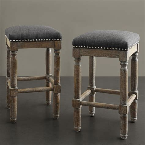 Renate Grey Counter Stools by Renate Grey Counter Stools Set Of 2
