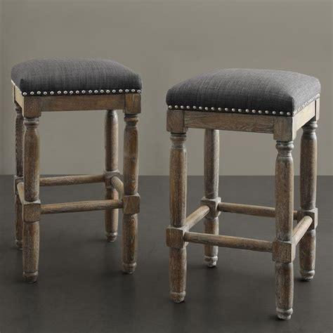 Renate Gray Counter Stools renate grey counter stools set of 2
