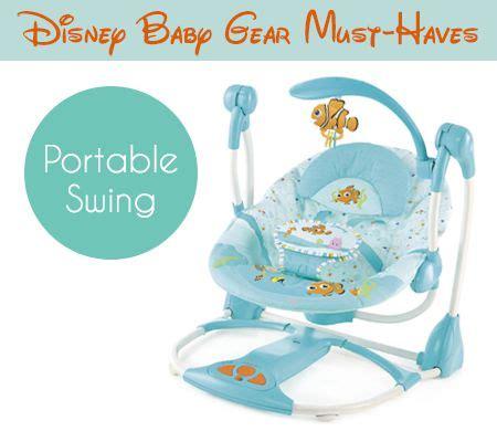 nemo baby swing finding nemo fins friends portable swing 6 disney baby
