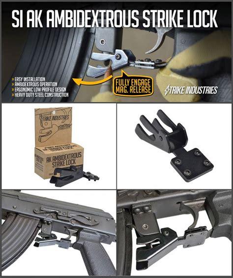 Advance Strike Lock by Strike Industries Ak Strike Lock Ambi Bullet Button The