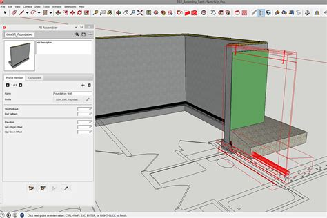 How To Create Floor Plan In Sketchup by Profile Builder 2 Create Parametric Wall Assemblies In