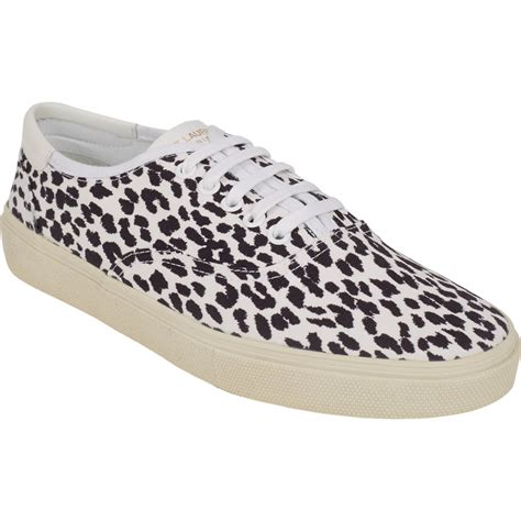 leopard sneakers style nba chris bosh s nyfw laurent leopard print