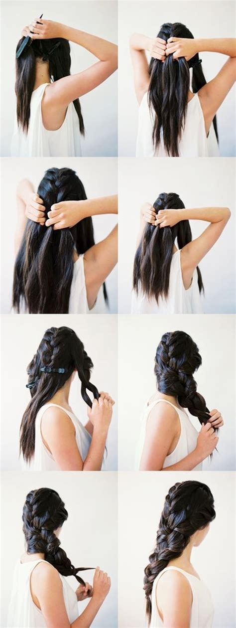15 easy step by step hairstyles for long hair hair style 15 easy step by step hairstyles for long hair