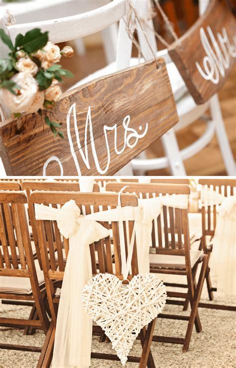 Stuhldeko Hochzeit by 22 Einfache Diy Stuhldeko Ideen F 252 R Die Hochzeit