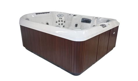 person extra large hot tub jacuzzi