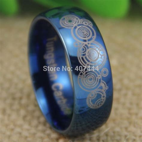 free shipping ygk jewelry sales 8mm doctor who time