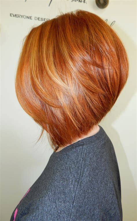 hairstyles of copper blonde hivhlights transformation proper copper hair color modern salon