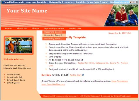 slideshow templates for asp net slideshow family template