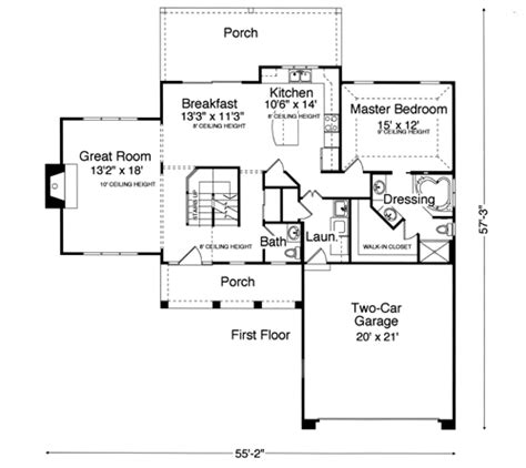 starter home floor plans house plans suitable for vacation homes drawn by studer