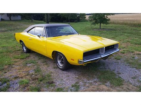 Newtech Large Yellow Car Charger 1969 dodge charger r t for sale classiccars cc 701007