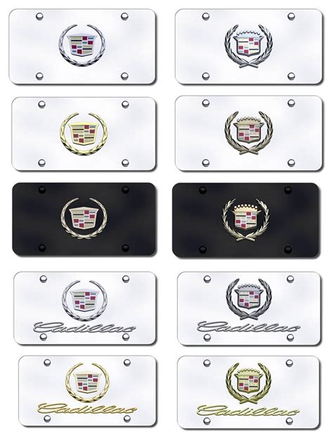 Cadillac Vanity Plates by Personalized License Plate Ideas For Cadillac