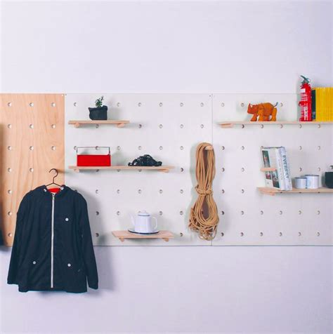 70 resourceful ways to decorate with pegboards and other different ways to decorate with pegboards