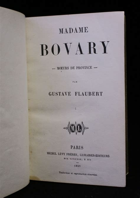 madame bovary edition books flaubert madame bovary signed book edition