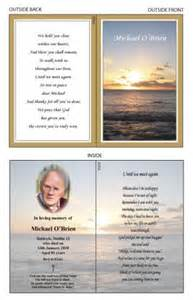 Funeral Remembrance Cards Template by Memorial Cards Baldoyle Print Ltd Dublin Printer