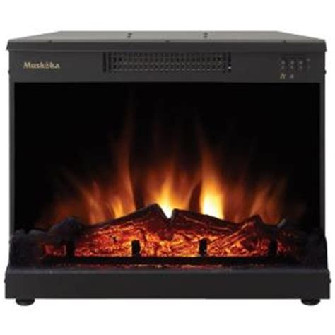 Home Depot Electric Fireplace Logs by Masonry 24 In Electric Fireplace Insert Mfi2500 The