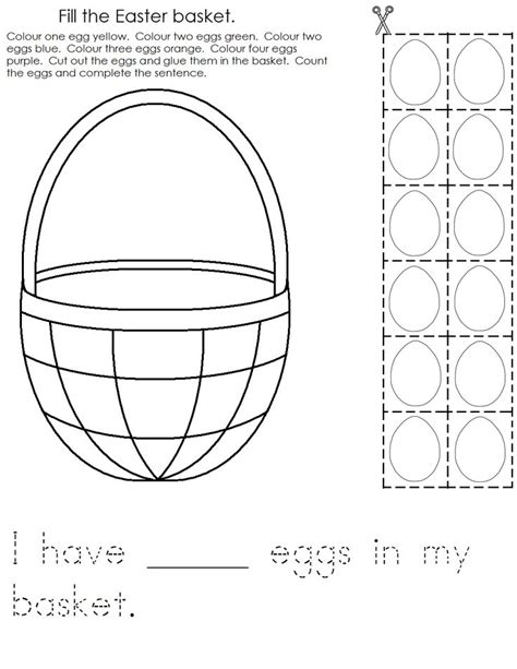 printable easter worksheets for preschool best 25 easter worksheets ideas on pinterest number