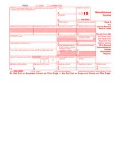free form 1099 misc template fillable 2015 1099 form pdffiller