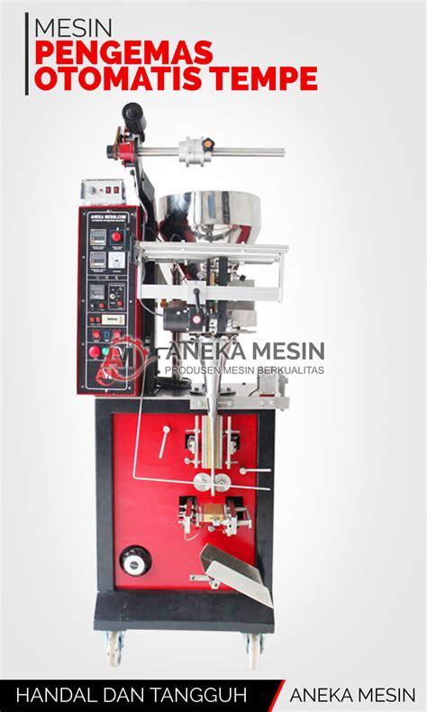 Jual Alat Cukur Otomatis jual mesin pengemas otomatis tempe aneka mesin