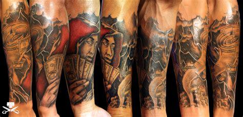 forearm sleeve tattoo hautedraws
