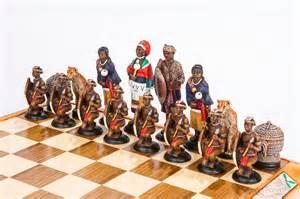 themed chess sets tribal chess set 187 kumbula shop
